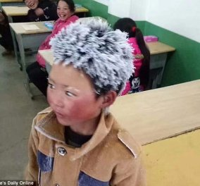 Story of the day: Το αγόρι που η παγωμένη εικόνα του τον έκανε διάσημο σήμερα ζει μία άλλη ζωή (ΦΩΤΟ) - Κυρίως Φωτογραφία - Gallery - Video