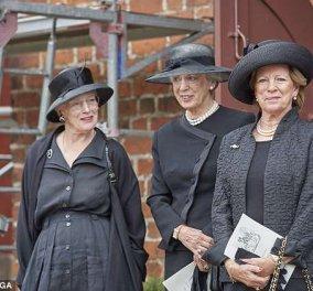 Κήδεψαν την πρώτη τους ξαδέλφη η Βασίλισσα της Δανίας Μαργαρίτα & η αδελφή της, η δικιά μας Άννα Μαρία - Κυρίως Φωτογραφία - Gallery - Video