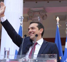 ΦΩΤΟ-ΒΙΝΤΕΟ: Οι ομιλίες Τσίπρα & Καμμένου στο Ζάππειο μετά την απόφαση του Eurogroup - Κυρίως Φωτογραφία - Gallery - Video