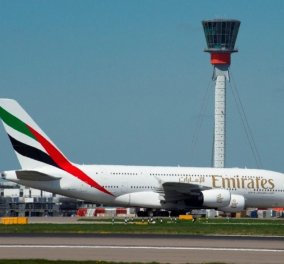 Σε λίγο ο «Bασιλιάς των αιθέρων» το τεράστιο Α380 προσγειώνεται στο «Ελ. Βενιζέλος»- Ντουμπάι- Αθήνα (ΒΙΝΤΕΟ) - Κυρίως Φωτογραφία - Gallery - Video