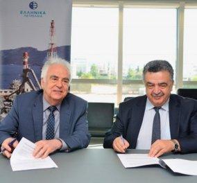 Τα Ελληνικά Πετρέλαια και το Οικονομικό Πανεπιστήμιο Αθηνών υπέγραψαν τριετές μνημόνιο συνεργασίας - Κυρίως Φωτογραφία - Gallery - Video