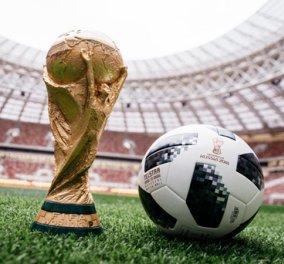 Ξεκινά σήμερα το Μουντιάλ στην Ρωσία: Δείτε εδώ όλο το πρόγραμμα της μεγάλης ποδοσφαιρικής γιορτής  - Κυρίως Φωτογραφία - Gallery - Video