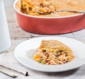 Φανταστική συνταγή από την Αργυρώ Μπαρμπαρίγου! Γιουβέτσι με κιμά & λαχανικά με κρούστα γιαουρτιού - Κυρίως Φωτογραφία - Gallery - Video