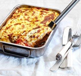 Λαχταριστά κανελόνια με κιμά κοτόπουλου και βελούδινη κρέμα τυριού από την Αργυρώ μας - Θα τρελαθείτε! - Κυρίως Φωτογραφία - Gallery - Video