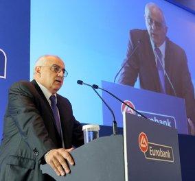 Αποχωρεί ο Ν.Καραμούζης από την Eurobank τον Μάρτιο του 2019 - Τακτική Γενική Συνέλευση των Μετόχων - Κυρίως Φωτογραφία - Gallery - Video