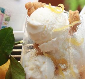 Η Ντίνα Νικολάου σε μια απολαυστική δημιουργία: Φτιάχνει δροσιστικό παγωτό γιαούρτι με μέλι και λεμόνι  - Κυρίως Φωτογραφία - Gallery - Video