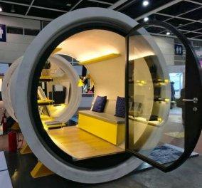 Πάμε Χονγκ Κονγκ; Σπίτια μόλις 11 τ.μ. σαν αγωγός νερού: Αναδιπλούμενο κρεβάτι, ψυγείο, μπάνιο (ΦΩΤΟ & VIDEO) - Κυρίως Φωτογραφία - Gallery - Video