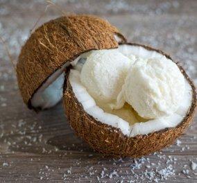 Μια καλοκαιρινή πρόταση από την Αργυρώ μας: Φτιάχνει απίθανο παγωτό καρύδα!  - Κυρίως Φωτογραφία - Gallery - Video
