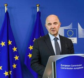 Ο Πιερ Μοσκοβισί είναι κατηγορηματικός: «Δεν θα υπάρξει μεταμφιεσμένο τέταρτο πρόγραμμα για την Ελλάδα» - Κυρίως Φωτογραφία - Gallery - Video