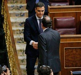 Παραιτήθηκε ο Μαριάνο Ραχόι από την κυβέρνηση: Νέος πρωθυπουργός ο σοσιαλιστής Σάντσεθ  - Κυρίως Φωτογραφία - Gallery - Video
