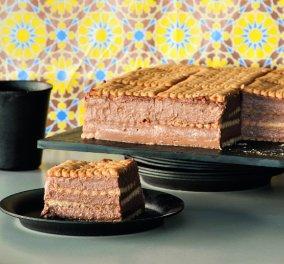 Απίστευτη τούρτα με πτι-μπερ & σοκολάτα από τον μετρ του είδους, Στέλιο Παρλιάρο - Κυρίως Φωτογραφία - Gallery - Video