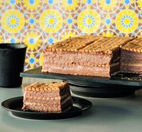 Λαχταριστή τούρτα με πτι-μπερ και σοκολάτα από τον Στέλιο Παρλιάρο - Κυρίως Φωτογραφία - Gallery - Video