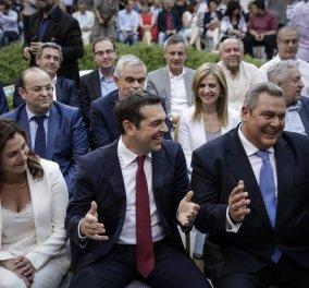 """Έτοιμος για γάμο ο Αλέξης Τσίπρας: """"Θα κάνω πρόταση γάμου στη Μπέτυ"""" είπε στον Καμμένο ... Ο διάλογος - Κυρίως Φωτογραφία - Gallery - Video"""