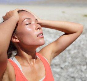 Τι πρέπει να κάνετε σε περίπτωση θερμοπληξίας; Ιδού πως θα αντιμετωπίσετε τον καύσωνα!  - Κυρίως Φωτογραφία - Gallery - Video