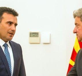 Ο Ζάεφ απειλεί με αποπομπή τον Πρόεδρο Ιβανόφ αν δεν υπογράψει τη συμφωνία με την Ελλάδα - Κυρίως Φωτογραφία - Gallery - Video