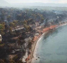 Κι άλλος νεκρός στο Μάτι - Η Μονάδα Υποβρυχίων Αποστολών του Λιμενικού ανέσυρε τη σωρό ενός άνδρα από τη θάλασσα  - Κυρίως Φωτογραφία - Gallery - Video