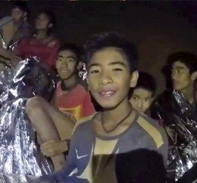 Ταϊλάνδη: Οι πρώτες εικόνες των αγοριών μετά τον απεγκλωβισμό τους από το σπήλαιο- Στα κρεβάτια του νοσοκομείου (ΒΙΝΤΕΟ) - Κυρίως Φωτογραφία - Gallery - Video