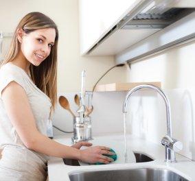 Δύο βασικές συμβουλές για να μειώσετε τον χρόνο πλυσίματος των πιάτων - Κυρίως Φωτογραφία - Gallery - Video
