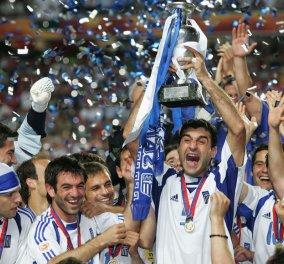 Σαν σήμερα η Ελλάδα πέτυχε το μεγαλύτερο... θαύμα στην ιστορία του ποδοσφαίρου - Το «Πειρατικό» στην κορυφή της Ευρώπης (Φωτό & Βίντεο) - Κυρίως Φωτογραφία - Gallery - Video