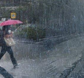 Έκτακτο δελτίο επιδείνωσης καιρού: Βροχές, καταιγίδες, χαλάζι και θυελλώδεις άνεμοι - Κυρίως Φωτογραφία - Gallery - Video