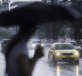«Άνοιξαν» οι ουρανοί: Το Μαρούσι «πνίγηκε» - Πολλά προβλήματα στους δρόμους - Κυρίως Φωτογραφία - Gallery - Video