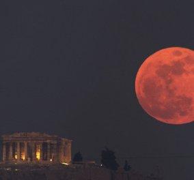 H μεγαλύτερη ολική έκλειψη Σελήνης του 21ου αιώνα την Παρασκευή - Το ματωμένο φεγγάρι θα συναρπάσει τον πλανήτη - Κυρίως Φωτογραφία - Gallery - Video