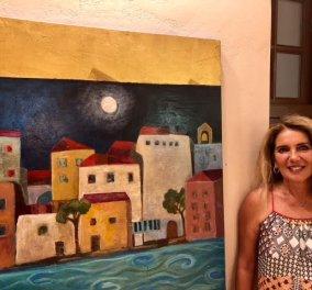 Η Αλίνα Μάτσα εκθέτει στις Σπέτσες και στα πανέμορφα νησιά (φωτο) - Κυρίως Φωτογραφία - Gallery - Video