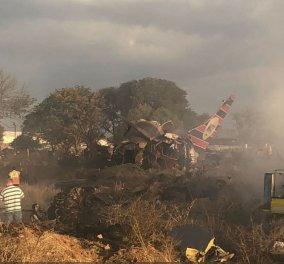 Το αεροπλάνο που έπεσε και συνετρίβη, αλλά οι επιβάτες βγήκαν ζωντανοί με λίγα τραύματα (Φωτό) - Κυρίως Φωτογραφία - Gallery - Video