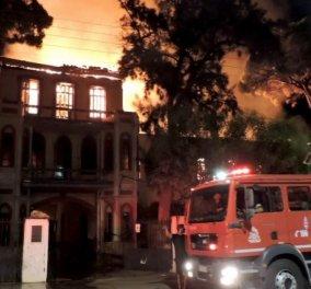 Έγινε στάχτη το Πολεμικό Μουσείο Χανίων - Δείτε τι απέμεινε από τη μεγάλη πυρκαγιά (Φωτό & Βίντεο) - Κυρίως Φωτογραφία - Gallery - Video