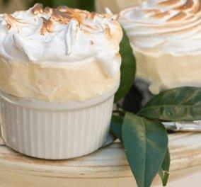 Γλυκό ψυγείου: Φτιάξτε εύκολα και γρήγορα κρύο σουφλέ με λεμόνι δια χειρός Στέλιου Παρλιάρου - Κυρίως Φωτογραφία - Gallery - Video