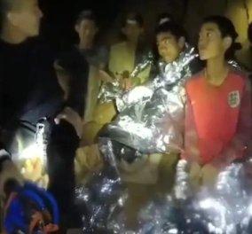 Ταϊλάνδη: Νέο βίντεο από τα εγκλωβισμένα αγόρια- Μπορεί να χρειαστούν μήνες για να βγουν από το σπήλαιο - Κυρίως Φωτογραφία - Gallery - Video