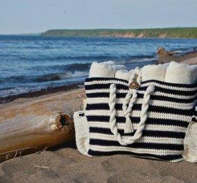 Να τι υπάρχει μέσα στην τσάντα θαλάσσης μου - Κυρίως Φωτογραφία - Gallery - Video