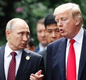 Ο Βλαντιμίρ Πούτιν έφτασε με καθυστέρηση στο Ελσίνκι για τη συνάντηση με τον Τραμπ - Ο Αμερικανός Πρόεδρος τον έστησε στο Προεδρικό Μέγαρο της Φινλανδίας (Φωτό & Βίντεο) - Κυρίως Φωτογραφία - Gallery - Video