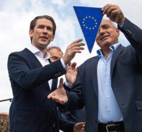 Άρχισε η προεδρία της Αυστρίας  σε μια πολύ κρίσιμη συγκυρία- Για πρώτη φορά στο τιμόνι της Ε.Ε. μια κυβέρνηση με ακροδεξιούς - Κυρίως Φωτογραφία - Gallery - Video