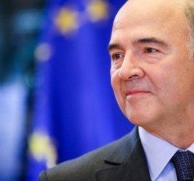 Πιερ Μοσκοβισί: Να συνοδεύσουμε την Ελλάδα στην οδό της επιτυχίας της - Κυρίως Φωτογραφία - Gallery - Video