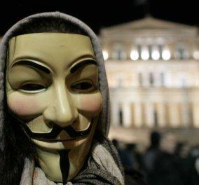 """Οι Anonymous Greece «χάκαραν» την ιστοσελίδα της Κυβέρνησης - «Το """"κράτος"""" τους άφησε να καούν ζωντανοί» (Φωτό) - Κυρίως Φωτογραφία - Gallery - Video"""