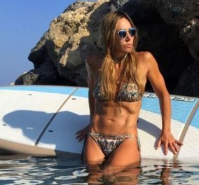 Η Ελένη Πετρουλάκη στη... πατρίδα της την Κρήτη – Πανέμορφη και δυνατή στο Βάι (Φωτό) - Κυρίως Φωτογραφία - Gallery - Video