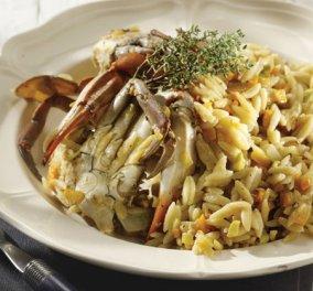 Ένα υπέροχο πιάτο που μυρίζει θάλασσα! - Καβούρια γιουβέτσι από την Αργυρώ Μπαρμπαρίγου   - Κυρίως Φωτογραφία - Gallery - Video