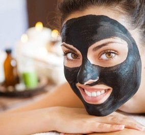 Βαθύς καθαρισμός με μαύρη μάσκα προσώπου για μαύρα στίγματα - Κυρίως Φωτογραφία - Gallery - Video