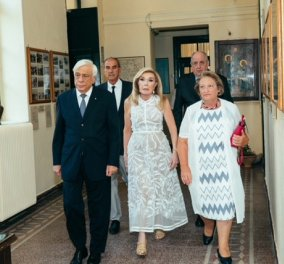 Παρουσία του Προκόπη Παυλόπουλου απονεμήθηκαν τα «Βραβεία Πολιτισμού Μαριάννα Β. Βαρδινογιάννη» (φωτο) - Κυρίως Φωτογραφία - Gallery - Video