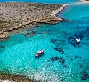Παντερονήσια, η «Καραϊβική του Αιγαίου»: Σμαραγδένια νερά σε κυκλαδίτικα βραχονήσια μεταξύ Πάρου - Αντίπαρου (Βίντεο) - Κυρίως Φωτογραφία - Gallery - Video