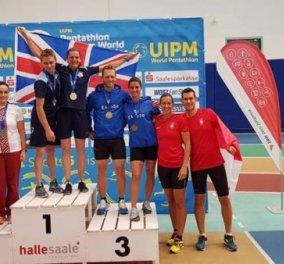 Ο ελληνικός θρίαμβος των δυο αδελφών : Κατέκτησαν τρία μετάλλια στο Παγκόσμιο πρωτάθλημα Μοντέρνου Πεντάθλου - Κυρίως Φωτογραφία - Gallery - Video