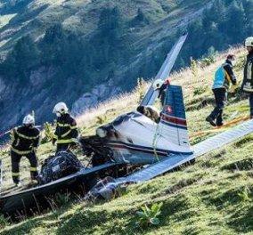 Ελβετία: Tετραμελής οικογένεια σκοτώθηκε από συντριβή μικρού αεροσκάφους  - Κυρίως Φωτογραφία - Gallery - Video