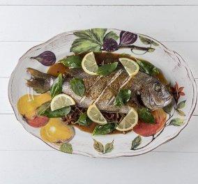Ποιος είπε ότι το ψάρι δεν μπορεί να είναι Gourmet; - Φαγκρί με τσίλι και βασιλικό από τον Άκη Πετρετζίκη  - Κυρίως Φωτογραφία - Gallery - Video