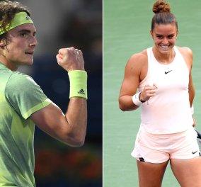 US Open: Στέφανος Τσιτσιπάς και Μαρία Σάκκαρη συνεχίζουν ακάθεκτοι στον δεύτερο γύρο - Κυρίως Φωτογραφία - Gallery - Video
