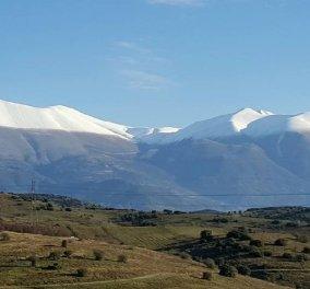 Κυρίες και Κύριοι ο χειμώνας μπήκε επισημά! Δείτε το πρώτο χιόνι στον Όλυμπο! (Φωτό) - Κυρίως Φωτογραφία - Gallery - Video