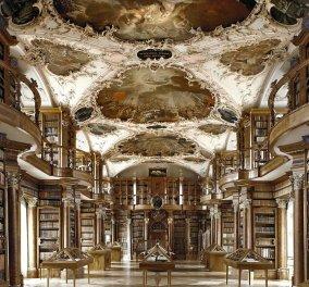 Ιταλός καλλιτέχνης φωτογραφίζει την απέραντη ομορφιά από βιβλιοθήκες γεμάτες στυλ και άποψη!   - Κυρίως Φωτογραφία - Gallery - Video