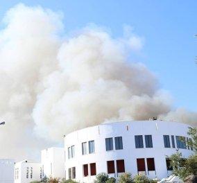 Μαίνεται η πυρκαγιά στο πανεπιστήμιο Κρήτης-Μεγάλες ζημιές - Στην Κρήτη ο Γαβρόγλου (φώτο) - Κυρίως Φωτογραφία - Gallery - Video