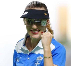 Η Άννα Κορακάκη είναι Παγκόσμια Πρωταθλήτρια στην Σκοποβολή - Κυρίως Φωτογραφία - Gallery - Video