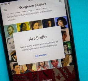 «Art Selfie»: Τώρα μπορείς να τραβήξεις selfie και να βρεις τον διάσημο... «σωσία» σου στην Τέχνη - Κυρίως Φωτογραφία - Gallery - Video